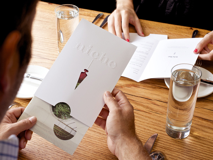 Niche Restaurant menu design