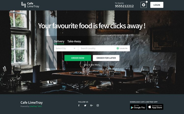 Online Ordering for Restaurants | LimeTray